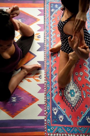 Fashion Friday: Magic Carpet Yoga Mats