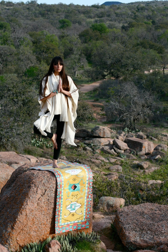 Ana Mercedes Photography, 2013. Model: Cecilia Alejandra.  Styling by Shari Gerstenberger, Charm School Vintage.  Enchanted Rock, TX.